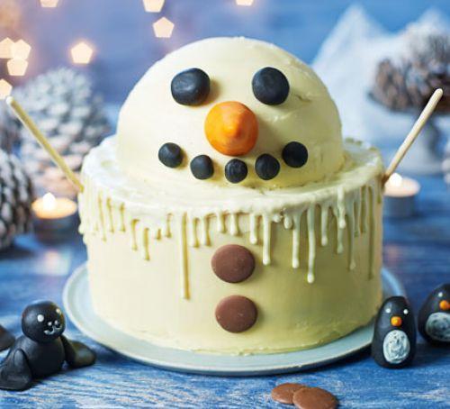 Alternative Christmas Cake.Alternative Christmas Cakes Swizzels